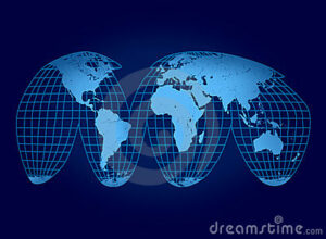 World Map- dreamstime 16075222