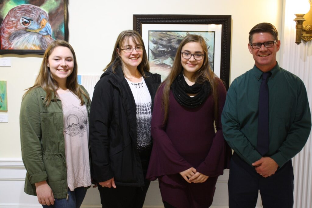 Regional Student Art Exhibit Opening
