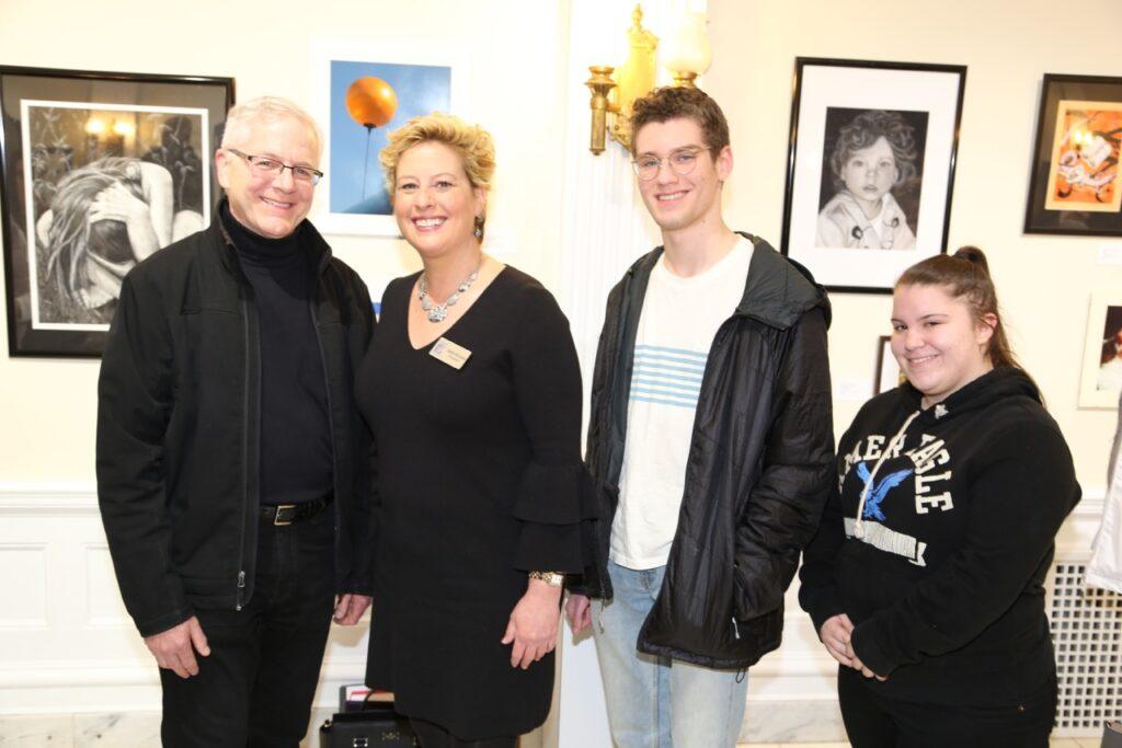 Student Art Exhibit Opening